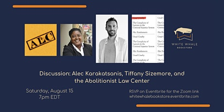 Discussion: Alec Karakatsanis, Tiffany Sizemore, Abolitionist Law Center tickets