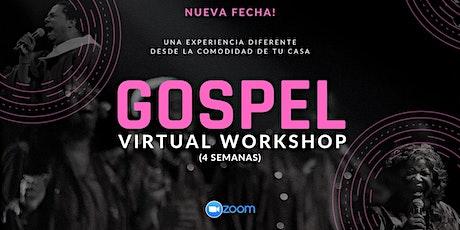 Gospel Virtual Workshop boletos
