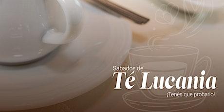 Sábados de té Lucania entradas