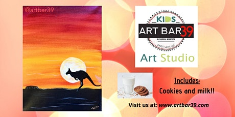 Kids Painting Party | Australian Landscape | Includes Cookies & Milk! tickets