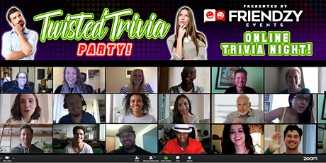 Twisted Trivia Night On Zoom tickets