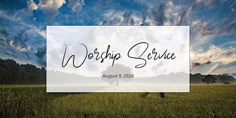 August 9 Worship Service tickets