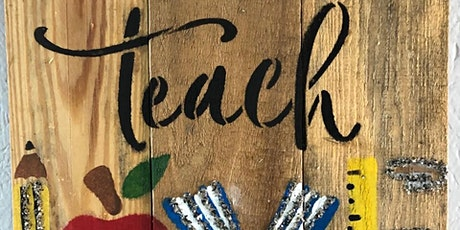 Stone and Pallet (TM) Teacher Appreciation - Create and show your support! tickets