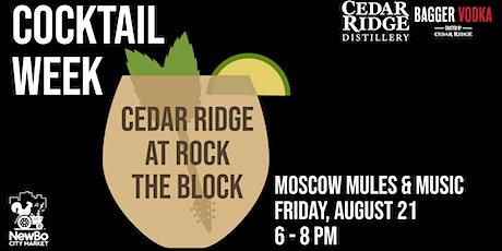 CANCELED Cedar Ridge at Rock the Block: Flamin' Cameros tickets