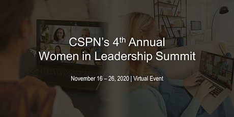 4th Annual Women in Leadership Virtual Summit tickets