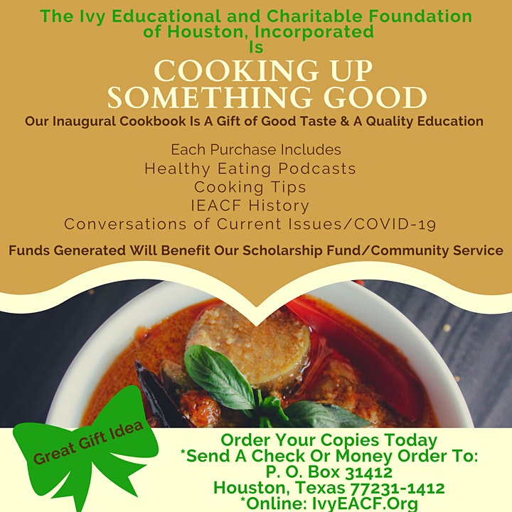 IEACF of Houston, Inc. Cookbook Project and Soiree image