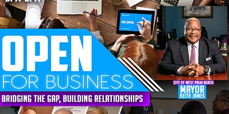 "Open for Business  ""Bridging the Gap "" ZOOM Webinar tickets"