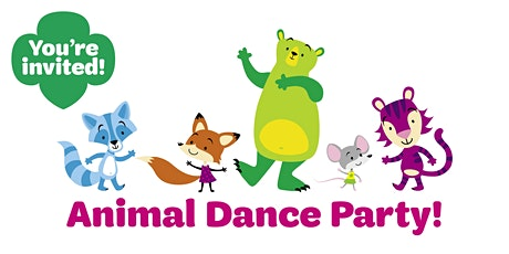 Animal Dance Party (Virtual Event) for girls entering 2nd/3rd grade tickets