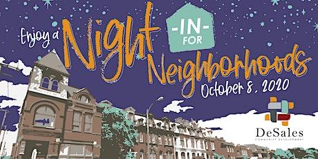 Night In for Neighborhoods 2020 tickets