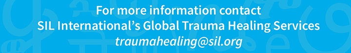 Bible-based Trauma Healing INITIAL Equipping, March 10-12, 18-19, 2021 image