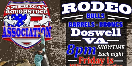 Doswell VA Professional Bulls Broncs And Barrels tickets