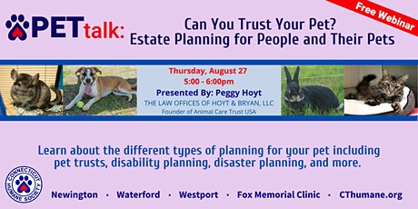 PETtalk: Can You Trust Your Pet? tickets