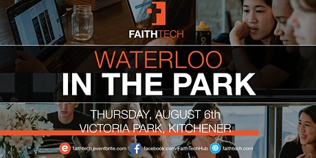 Waterloo August Monthly Meetup - Picnic in the Park! tickets
