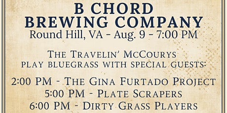 The Travelin McCourys Play Bluegrass tickets