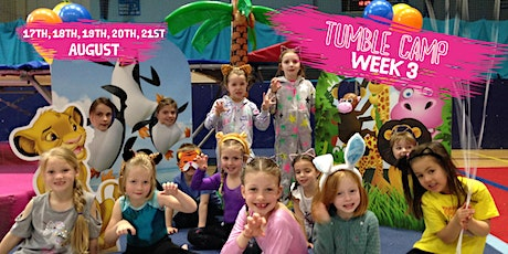 Guildford Gymnastics Camp - Week 3 - 17th, 18th, 19th, 20th & 21st August tickets