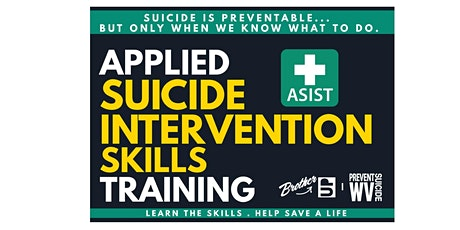 ASIST -  Applied Suicide Intervention Skills Training - MORGANTOWN WV tickets