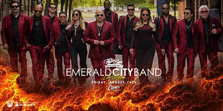 Emerald City Band [Limited Seating and Live Stream] tickets
