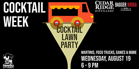 CANCELED Cocktail Lawn Party at NewBo City Market tickets