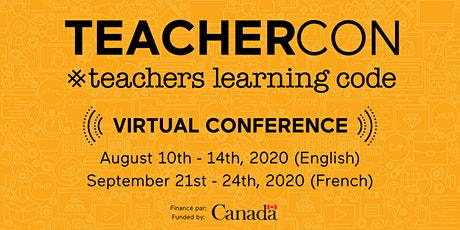 Live Online Teachers Learning Code: TeacherCon 2020 tickets