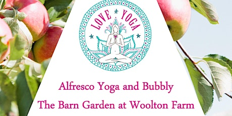 Alfresco Yoga and Bubbly at The Barn Garden tickets
