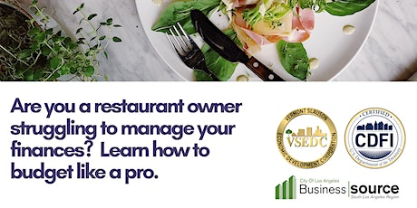 Webinar-Restaurant Budgeting for Small Business Owners tickets
