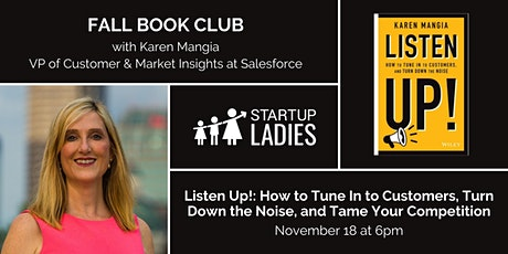 Fall Book Club with Karen Mangia tickets