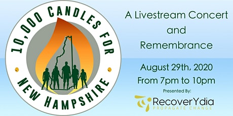 10,000 Candles For New Hampshire tickets