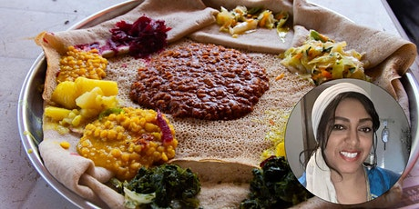 Virtual Class - Ethiopian Cooking: Easy Vegetarian Recipes tickets