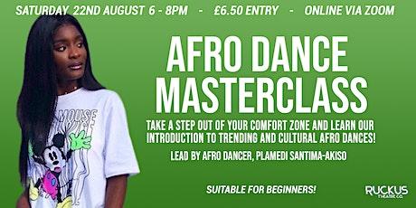 Afro Dance Masterclass feat Plamedi Santima-Akiso tickets