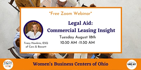 Legal Aid: Commercial Leasing Insight tickets