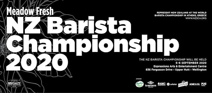 Spectator Entry! NZ Barista Championship 2020 image
