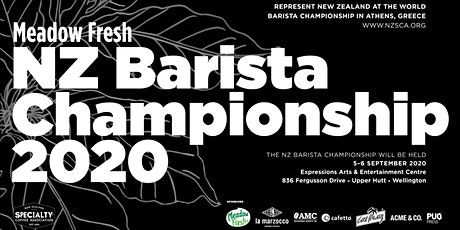 Spectator Entry! NZ Barista Championship 2020 tickets