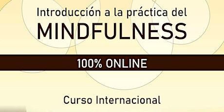 Introducción a la práctica del Mindfulness - 4 Encuentros Online