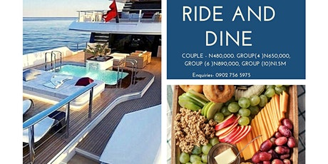 Ride and Dine tickets