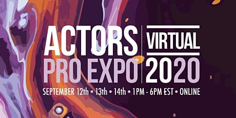Actors Pro Expo Virtual 2020 tickets