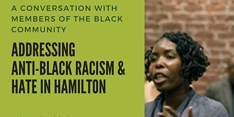 A Conversation about Anti Black Racism and Hate in Hamilton tickets