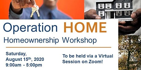 Operation Home Workshop - August 2020 tickets