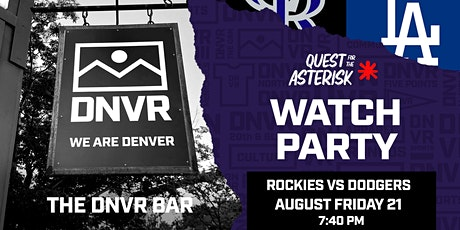 Rockies vs Dodgers Watch Party tickets