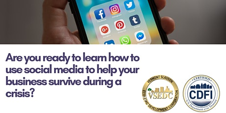 Webinar-Taking Your Business on Social Media tickets