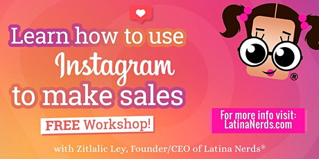Come join us and learn how to use INSTAGRAM to make sales during COVID19 biglietti