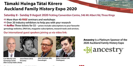 2020 Auckland Family History Expo tickets