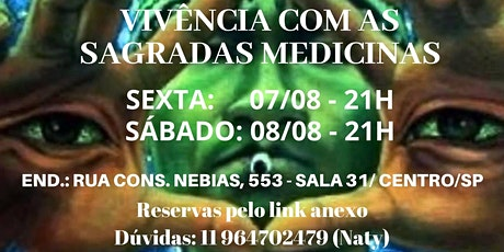 Vivencia Ayahuasca Mista ingressos