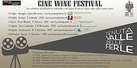 Cine Wine Festival biglietti
