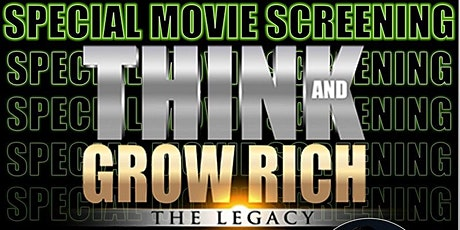 THINK AND GROW RICH : The Legacy Movie Virtual Screening Philippines tickets