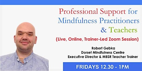 Professional Support for Mindfulness Practitioners & Teachers tickets