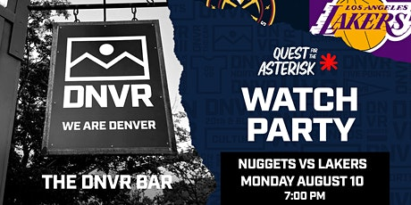 Nuggets vs Lakers Watch Party tickets