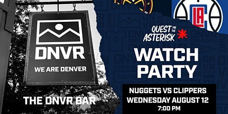 Nuggets vs Clippers Watch Party tickets
