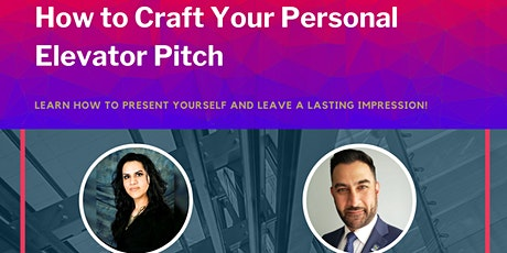 MAX Mentors - Virtual Workshop: How to craft your personal elevator pitch tickets