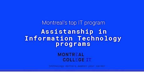 Assistantship plan - Information Technology Program biglietti