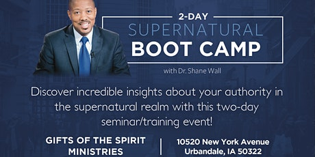 Supernatural Boot Camp 2020 – Des Moines, IA tickets